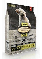 OBT Bezzbożowa karma dla psów małych ras na wszystkich etapach życia - kurczak, małe kawałki.